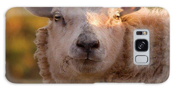 Sheep Galaxy Case - Silly Face by Angel Ciesniarska
