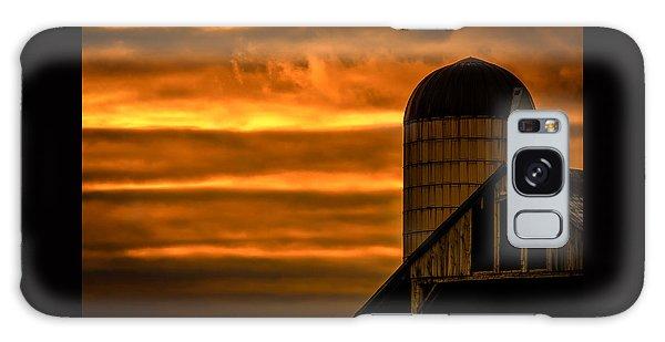 Silo Sunset Galaxy Case