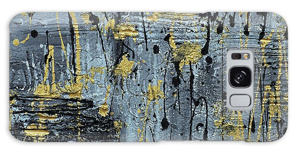 Silver And Gold  Galaxy Case by Cathy Beharriell
