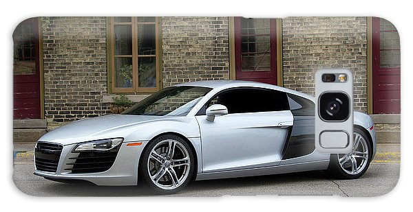 Silver Audi R8 Galaxy Case by Joel Witmeyer