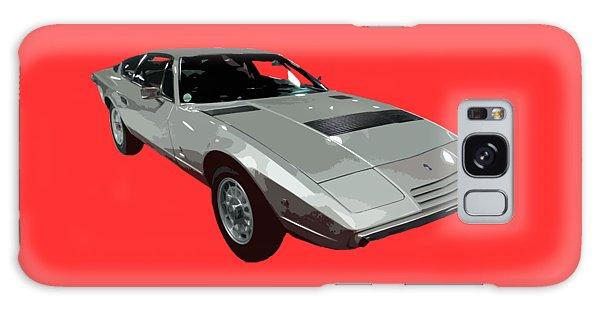 Silver Classic Sport Art Galaxy Case