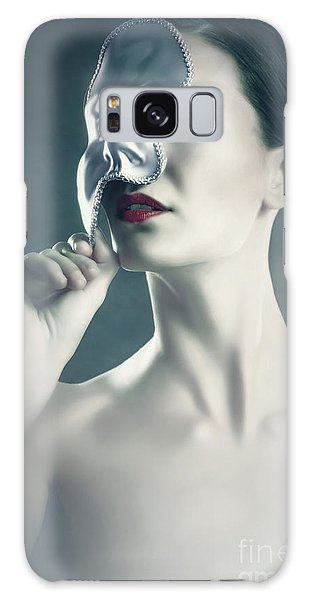 Galaxy Case featuring the photograph Silver Face by Dimitar Hristov