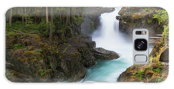 Silver Falls Washington Galaxy Case