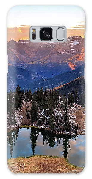 Silver Glance Lake Ig Crop Galaxy Case