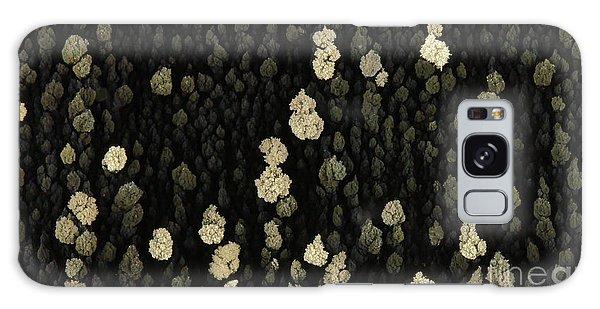 Silver Crystal Galaxy Case