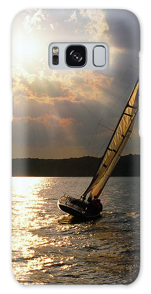 Silver Passage - Lake Geneva Wisconsin Galaxy Case
