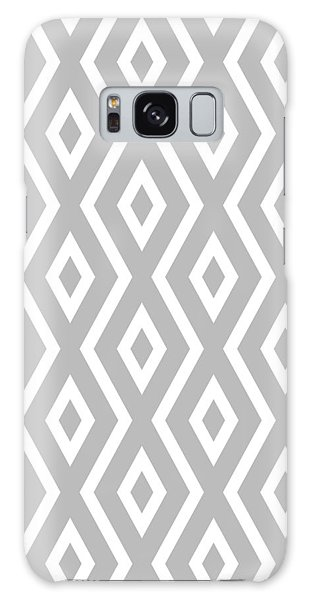 Galaxy Case - Silver Pattern by Christina Rollo