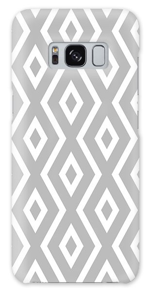 Beach Galaxy S8 Case - Silver Pattern by Christina Rollo