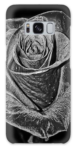 Silver Rose Galaxy Case