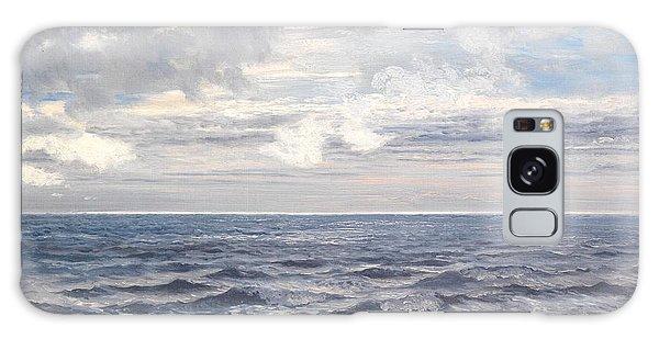 Sea Galaxy Case - Silver Sea by Henry Moore
