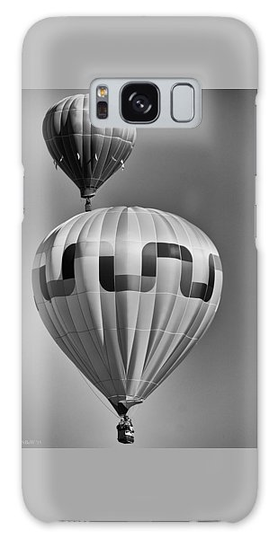 Silver Sky Balloons Galaxy Case by Kevin Munro