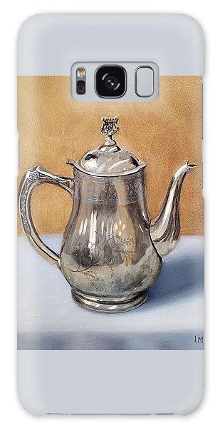 Silver Teapot Galaxy Case