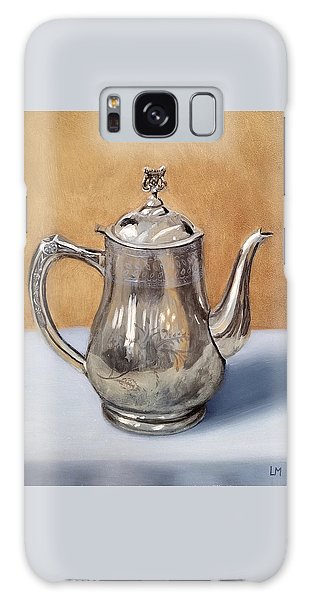 Silver Teapot Galaxy Case