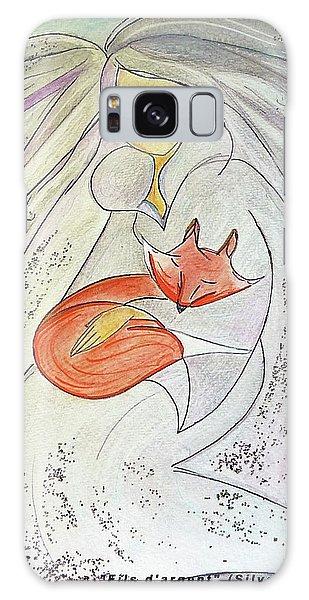 Silver Threads Galaxy Case by Gioia Albano