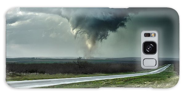 Silverton Texas Tornado 2 Galaxy Case by James Menzies