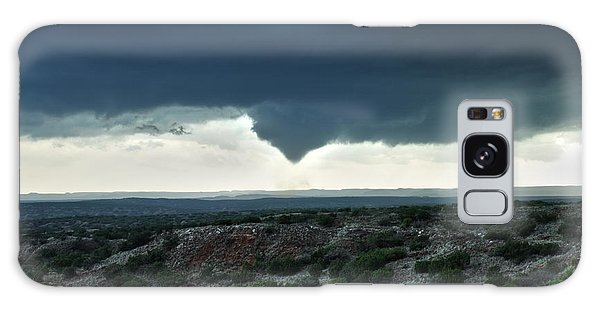 Silverton Texas Tornado Forms Galaxy Case by James Menzies