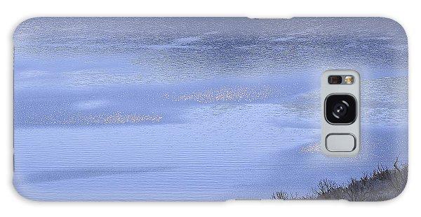 Silverwood Lake In Blue Overcast Galaxy Case