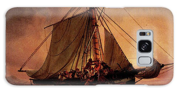Simonsen Niels Arab Pirate Attack Galaxy Case by Niels Simonsen