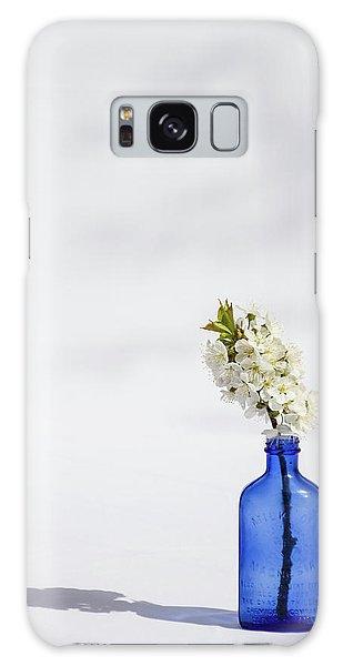Simple Blue Galaxy Case