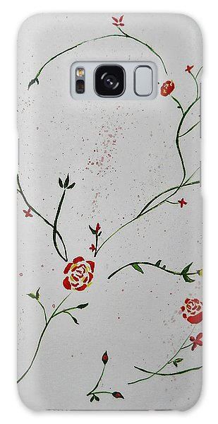 Simple Flowers #1 Galaxy Case