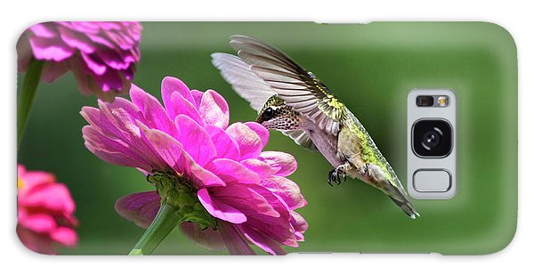 Galaxy Case featuring the photograph Simple Pleasure Hummingbird by Christina Rollo