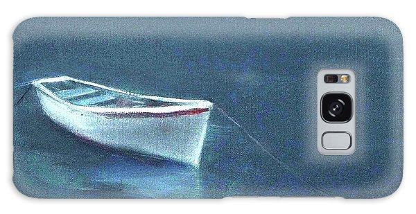 Simple Serenity - Lone Boat Galaxy Case