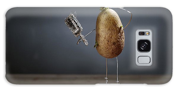 Potato Galaxy Case - Simple Things - Fading Beauty by Nailia Schwarz