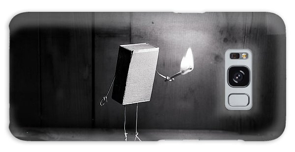 Comical Galaxy Case - Simple Things - Light In The Dark by Nailia Schwarz