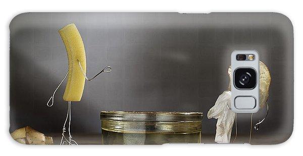 Bath Galaxy Case - Simple Things - Potatoes by Nailia Schwarz