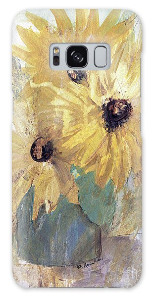 Simply Sunflowers  Galaxy Case