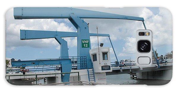 Simpson Bay Bridge St Maarten Galaxy Case