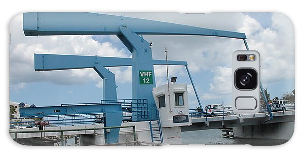 Simpson Bay Bridge St Maarten Galaxy Case