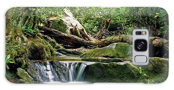 Sims Creek Waterfall Galaxy Case