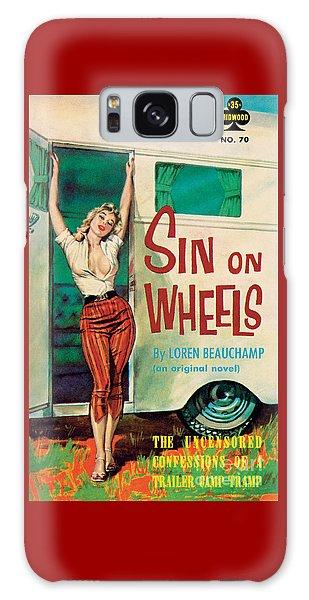 Sin On Wheels Galaxy Case