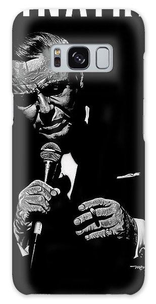 Sinatra W Sig Galaxy Case by Dan Menta
