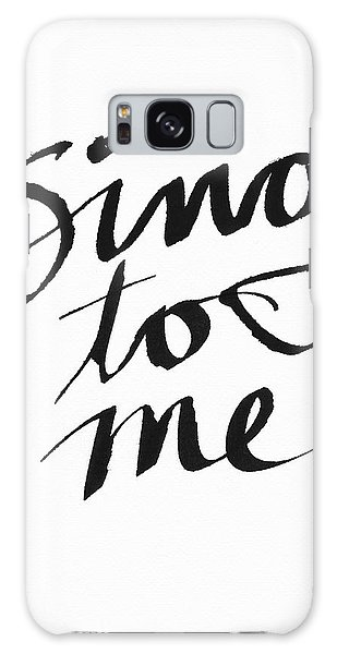 Song Galaxy Case - Sing To Me- Art By Linda Woods by Linda Woods