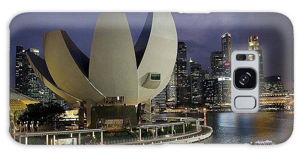 Singapore Harbor Galaxy Case