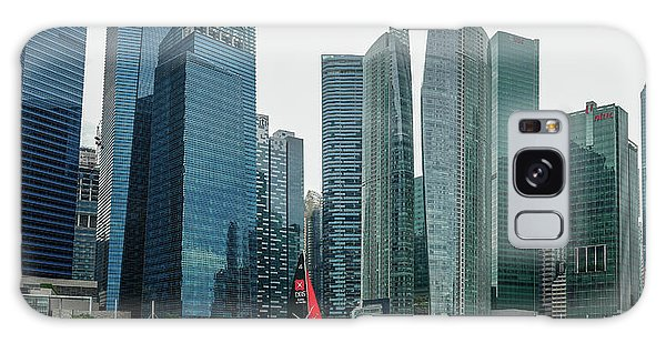 Singapore Harbour Galaxy Case
