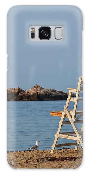 Singing Beach Lifeguard Chair Manchester By The Sea Ma Galaxy Case