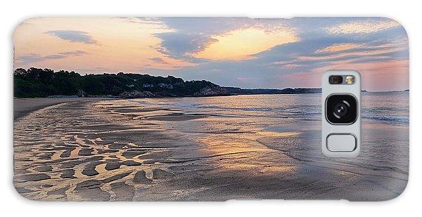 Singing Beach Sandy Beach Manchester By The Sea Ma Sunrise Galaxy Case