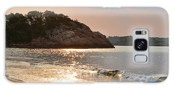 Singing Beach Silver Waves Manchester By The Sea Ma Galaxy Case
