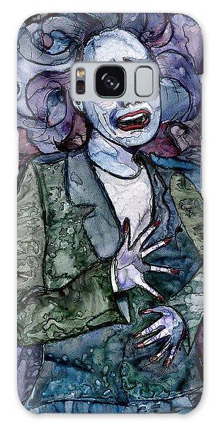 Singing Lady-blues Galaxy Case