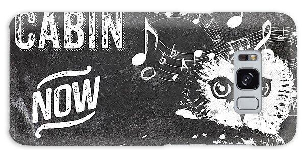 Rustic Galaxy Case - Singing Owl Cabin Rustic Sign by Mindy Sommers