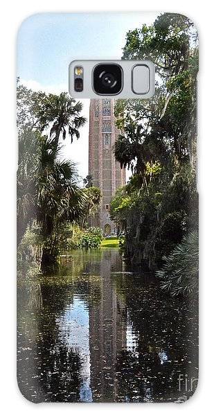 Singing Tower Reflection Galaxy Case by Carol  Bradley