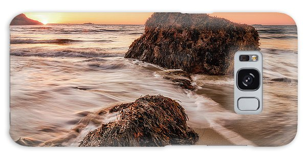 Galaxy Case featuring the photograph Singing Water, Singing Beach by Michael Hubley