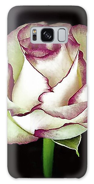 Single Beautiful Rose Galaxy Case