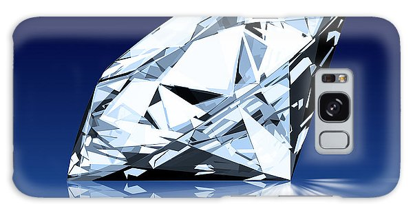 Single Blue Diamond Galaxy Case