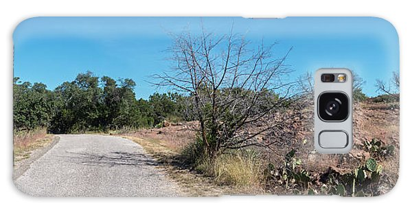 Single Lane Road In The Hill Country Galaxy Case