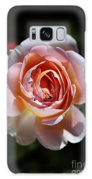 Single Romantic Rose  Galaxy Case