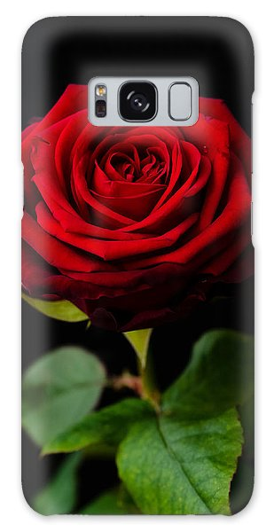 Single Rose Galaxy Case